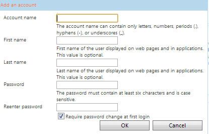 Sử dụng Email theo tên miền với Windows Live Admin Center của Microsoft