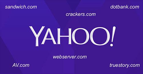 Yahoo bán 29 tên miền không hề sử dụng đến