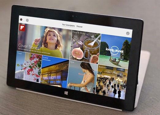 Ứng dụng đọc tin nổi tiếng Flipboard cập bến Windows 8