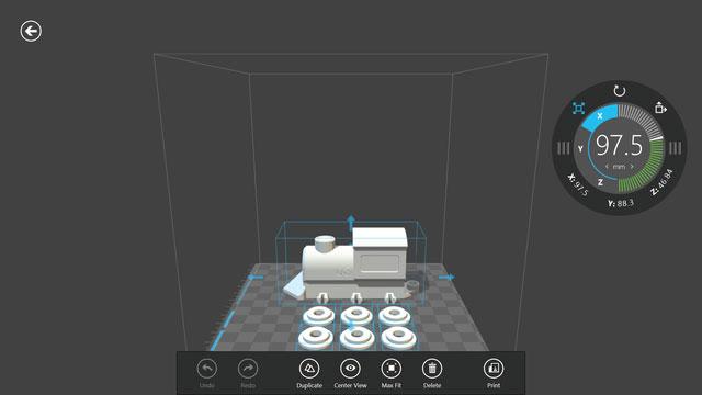 Microsoft đi tiên phong hỗ trợ công nghệ in 3D