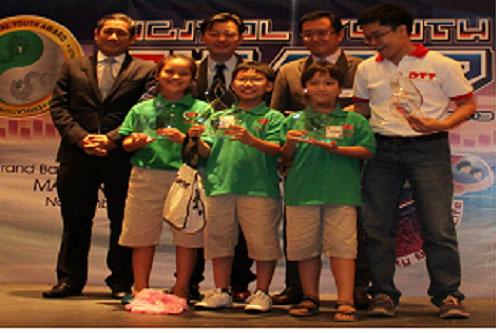 Việt Nam vô địch Robotics quốc tế 2013 hạng sơ cấp