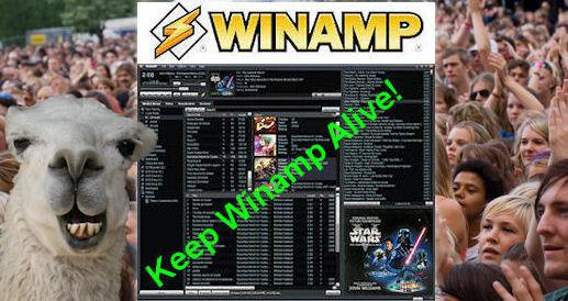 Trình phát media Winamp có hy vọng được cứu