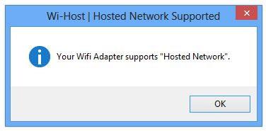 Hướng dẫn phát WiFi bằng Laptop với phần mềm Wi-Host