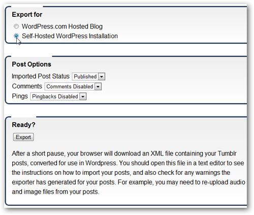 Chuyển blog từ Tumblr sang WordPress - Quantrimang com