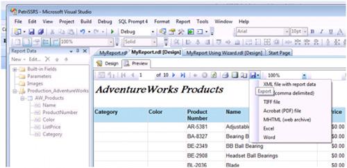 Hướng dẫn tạo và chỉnh sửa báo cáo trong SQL Server Reporting Services