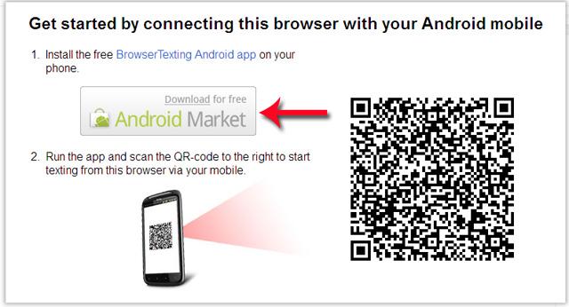 Cách gửi và nhận tin nhắn sms qua trình duyệt web