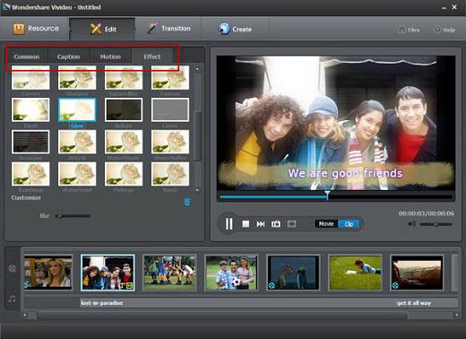 Miễn phí key bản quyền phần mềm Wondershare Vivideo