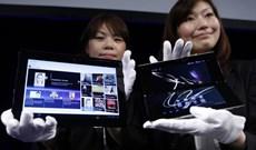 Sony Tablet P với màn hình đôi có giá 400 USD