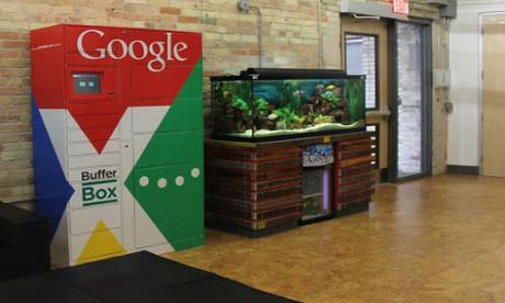 Google mua dịch vụ tủ lưu trữ tạm thời BufferBox