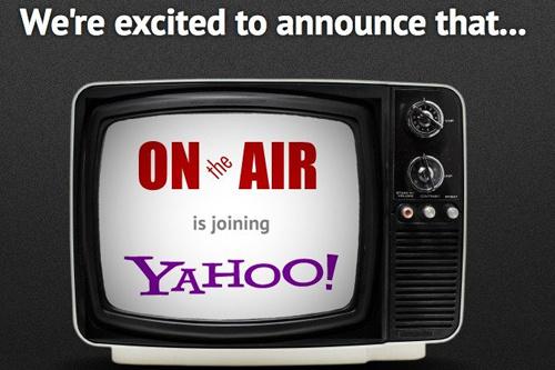 Yahoo thâu tóm công ty video chat OntheAir