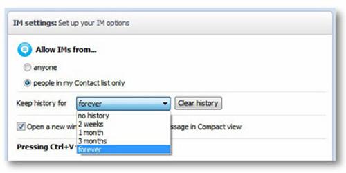 Cách xóa lịch sử trò chuyện trên Skype