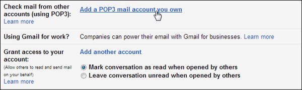Truy cập tài khoản Email POP3 trong Windows 8