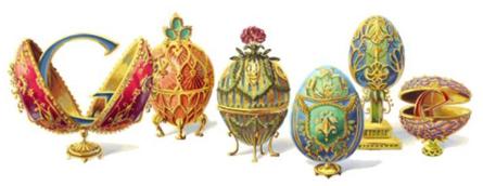 Top 10 Google Doodle năm 2012