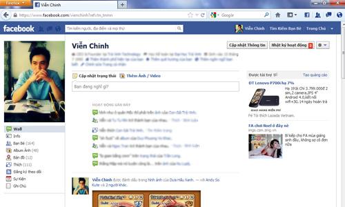 5 tiện ích hỗ trợ người dùng Facebook trên Firefox
