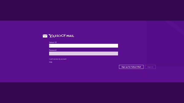 Hướng dẫn sử dụng ứng dụng Yahoo Mail trên Windows 8