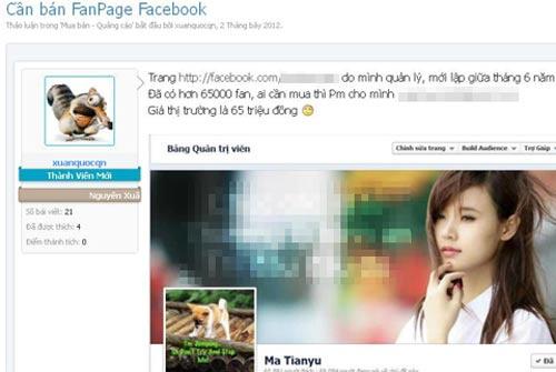"""Buôn """"like"""" trên Facebook kiếm hàng chục triệu mỗi tháng"""