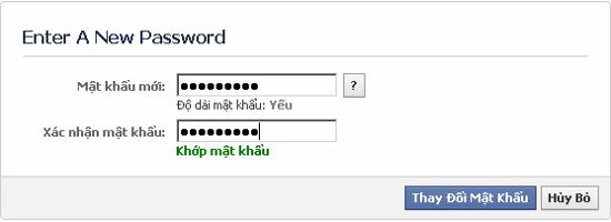 Làm gì khi quên mật khẩu Facebook