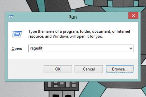 Cách đổi màu màn hình Sign-in của Windows 8