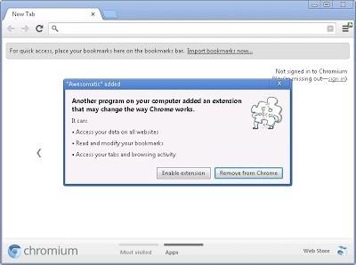 Chrome 25 sẽ hỗ trợ kiểm soát phần mở rộng bên thứ 3