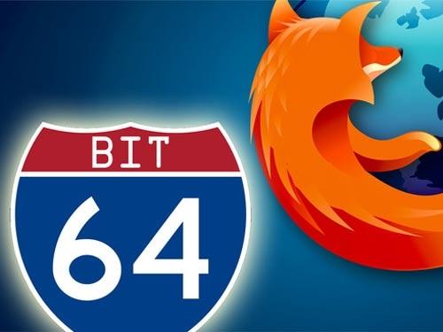 Mozilla sẽ trở lại với phiên bản Firefox 64-bit