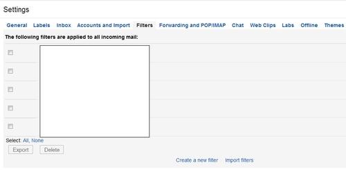 Xoá thư rác tự động trên Gmail