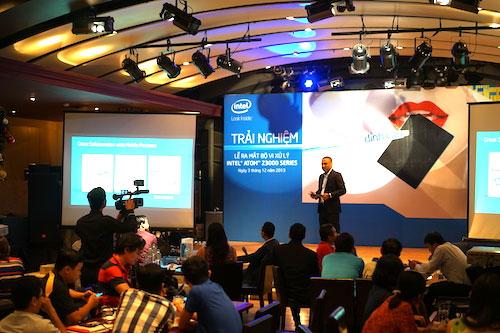 Intel sản xuất bộ vi xử lý Atom Z3000 tại Việt Nam