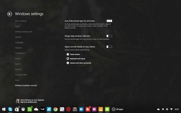 Những mẫu thiết kế Windows 9 hấp dẫn hiện nay