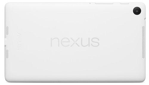 Nexus 7 có phiên bản màu trắng