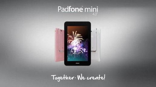 Asus chính thức trình làng Padfone Mini, giá chỉ 8,5 triệu đồng