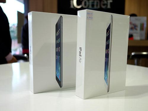iPad Air và Mini Retina tại Việt Nam đã gần giá gốc