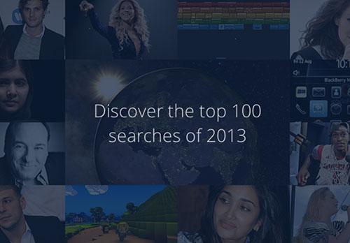 Thống kê từ khóa được tìm nhiều nhất Google 2013