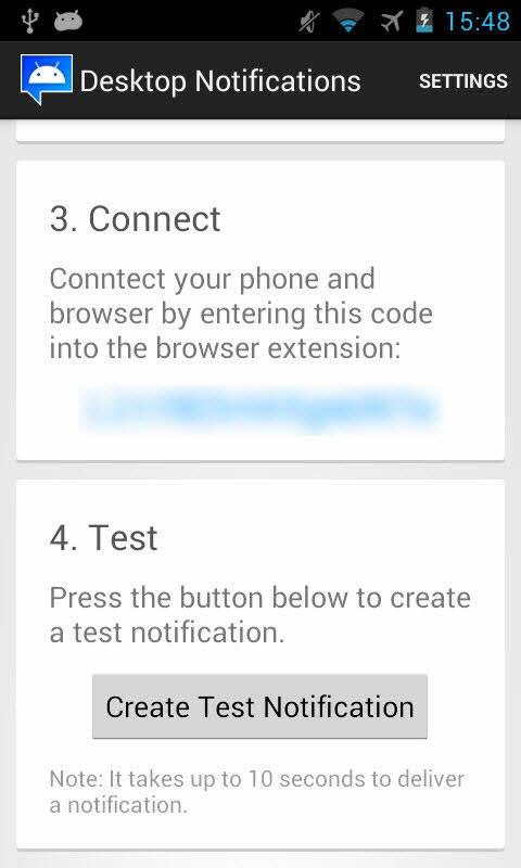 Cách nhận các thông báo trên smartphone Android từ máy tính