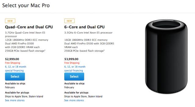 Mac Pro mới hoãn giao hàng sang tháng Hai