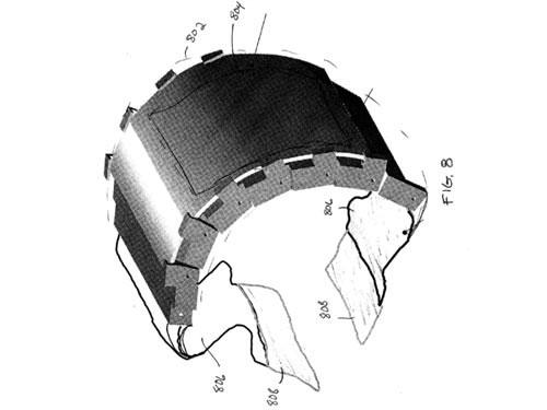 Motorola đăng ký sáng chế smartwatch uốn cong