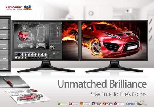 ViewSonic ra mắt màn hình Quad HD