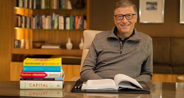 """5 cuốn sách """"Phải đọc"""" của Bill Gates năm 2014"""