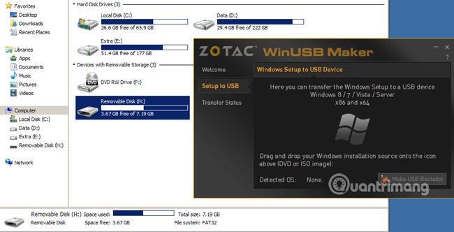 ZOTAC WinUSB Maker