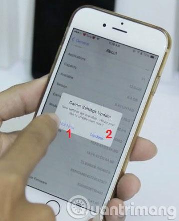 Cách để iPhone 6 lock không đòi cập nhật