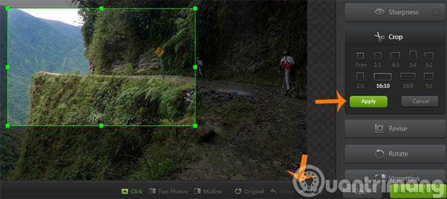 Menu Effects Trên Webcamera360