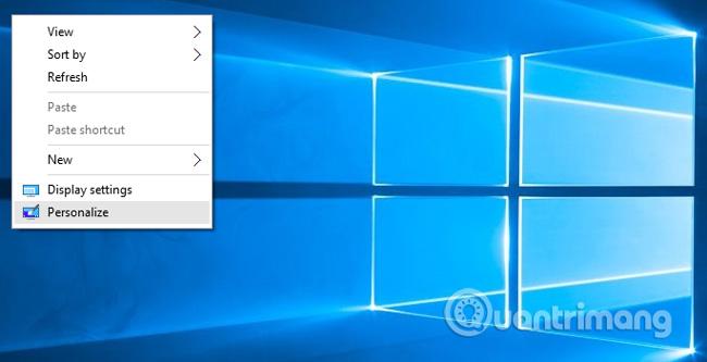 bấm chuột phải vào My Computer