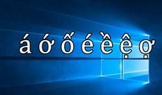 Làm thế nào để gõ tiếng Việt trên Windows 10