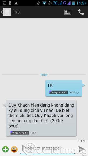Nhắn tin SMS