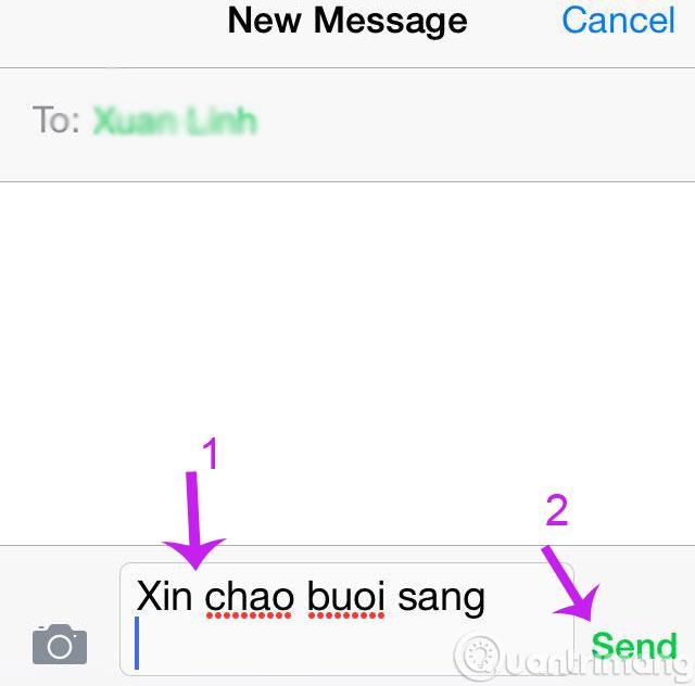 Làm thế nào để lấy lại tin nhắn đang gửi trên iPhone?