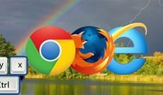 30 phím tắt cho IE, Firefox và Google Chrome