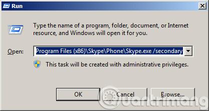 Hướng dẫn chat nhiều nick Skype trên cùng một máy tính