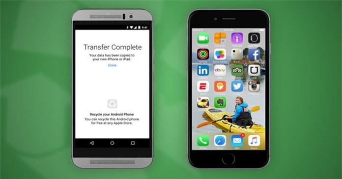 Cách chuyển dữ liệu từ Android sang iPhone bằng Move to iOS