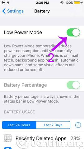Thủ thuật tăng tốc và giảm hao pin trên iOS 9