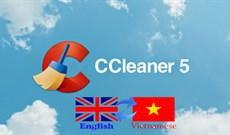 Thay đổi ngôn ngữ trên CCleaner