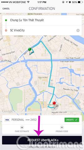 Hướng dẫn đăng ký và sử dụng Taxi Uber