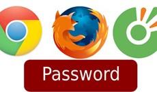 Hiển thị mật khẩu đã lưu trên các trình duyệt web